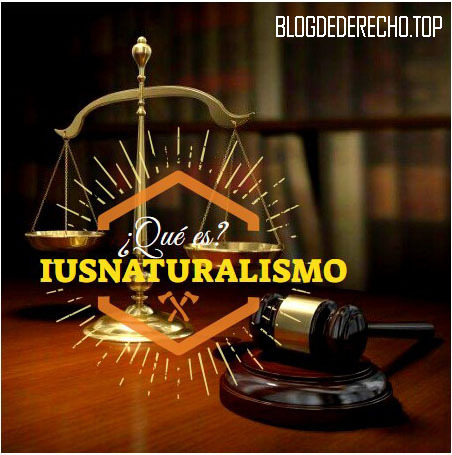 Derecho Natural o iusnaturalismo