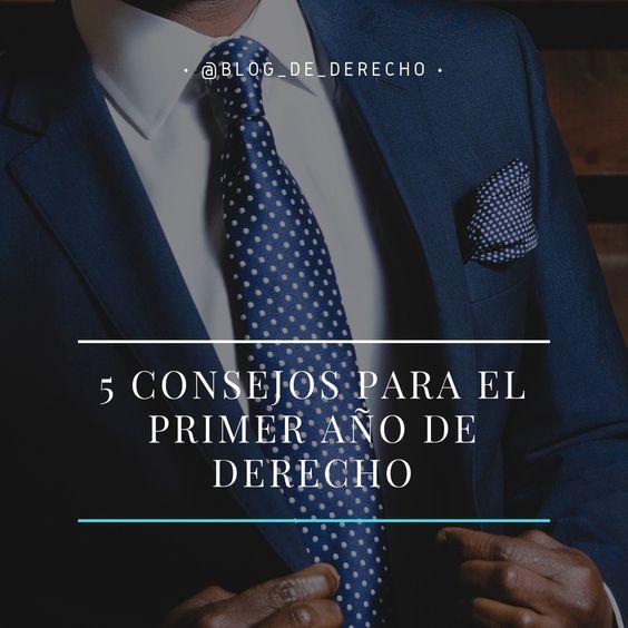CONSEJOS PARA PRIMER AÑO DE DERECHO